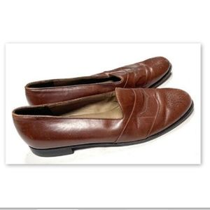 Bally Mens 12 M Brown Leather Dress Shoes Phoenix